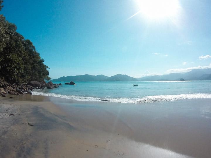 Praia do Bonete na trilha das 7 praias Ubatuba