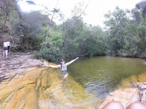 Cachoeira do grito na Trilha do Sol em Capitólio Minas Gerais