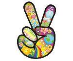 Dedos da Paz e do Amor