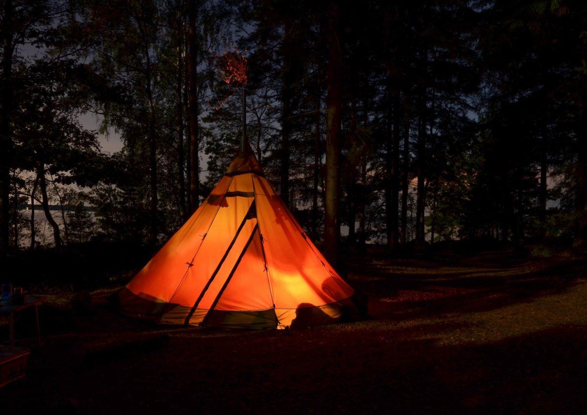 o que é camping selvagem