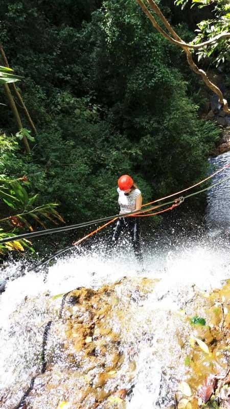 O que fazer em Brotas? Recomendo o cachoeirismo na Cachoeira dos Coqueiros no Sítio Sete Quedas em Brotas/SP