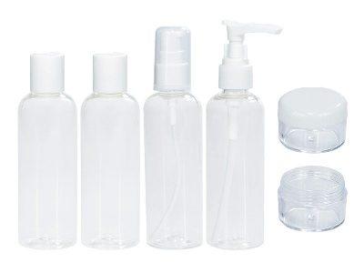 Frascos para levar shampoo na viagem economizar espaço na mala