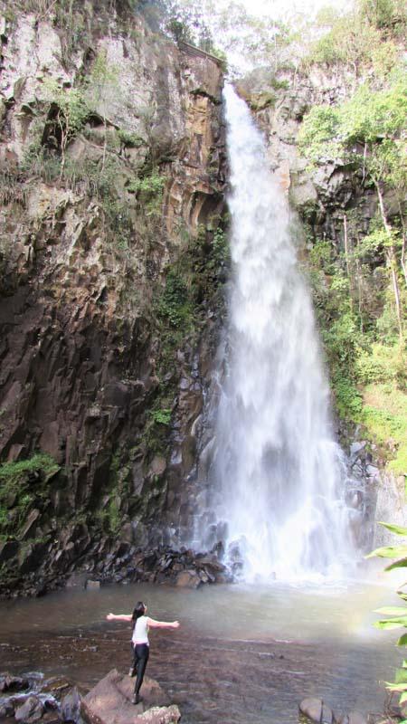 Cachoeira Bela Vista no Sítio Sete Quedas em Brotas/SP