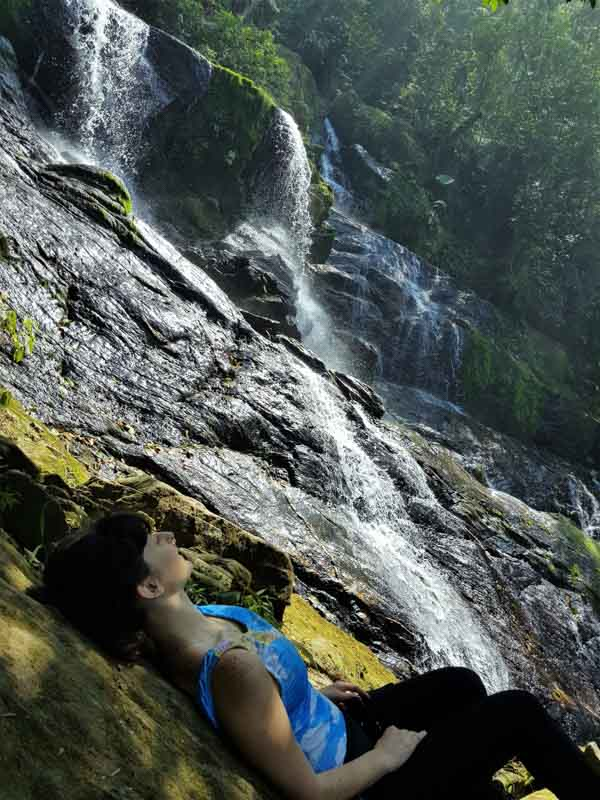 Cachoeira do Cristal na Trilha da Ferradura Paranapiacaba SP
