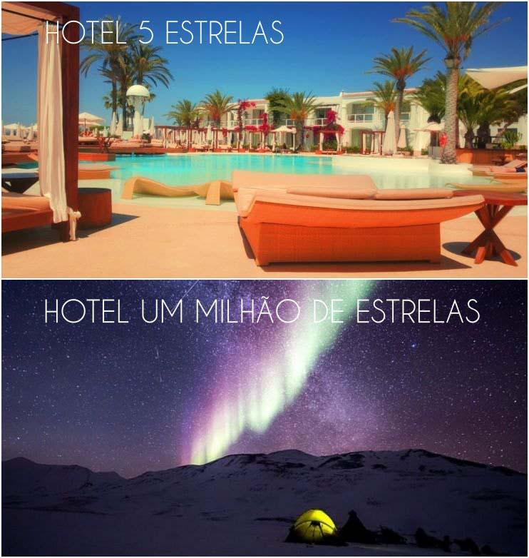 Hotel um milhão de estrelas meme. Viciado em viajar não se importa com conforto, desde que esteja viajando
