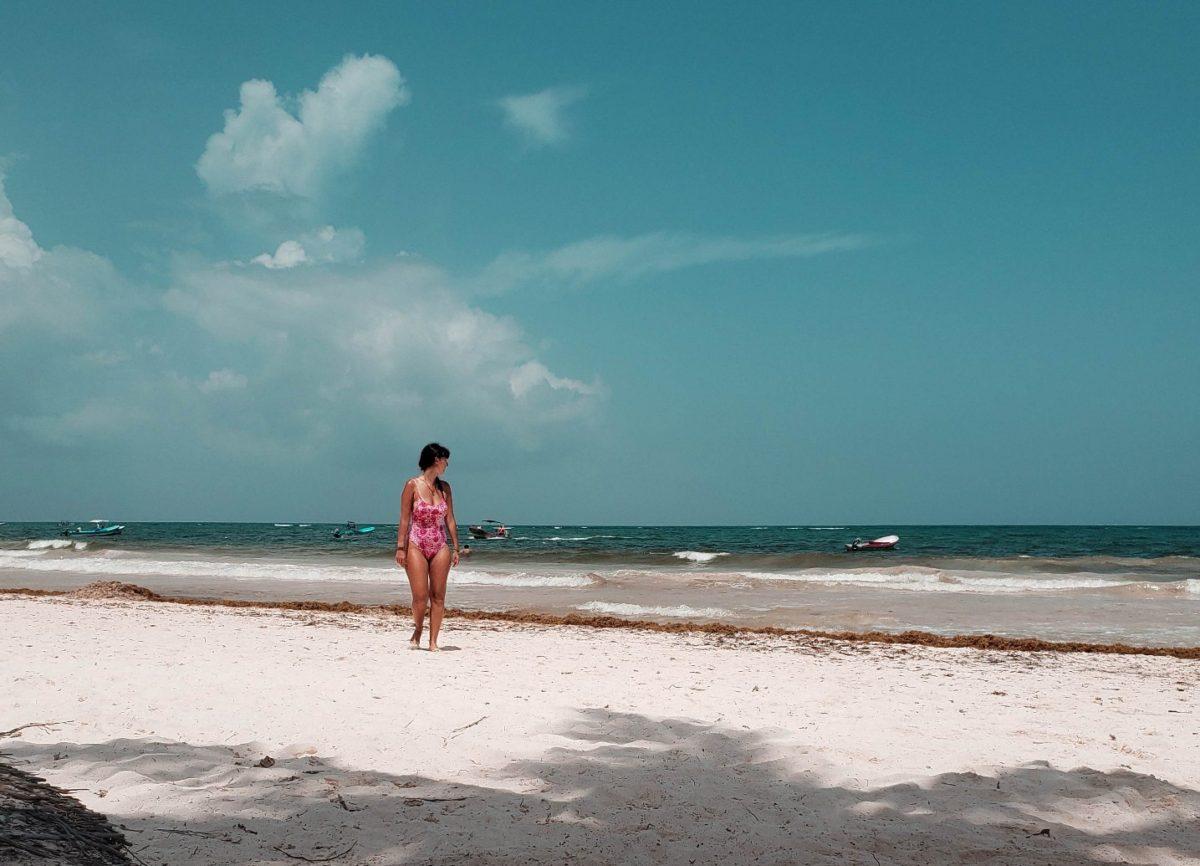 playa principal em tulum