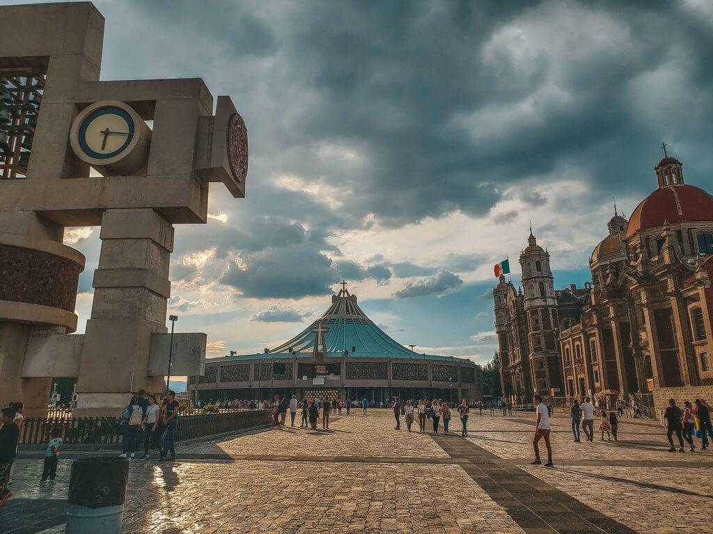 Complexo da Basílica de Guadalupe na Cidade do México