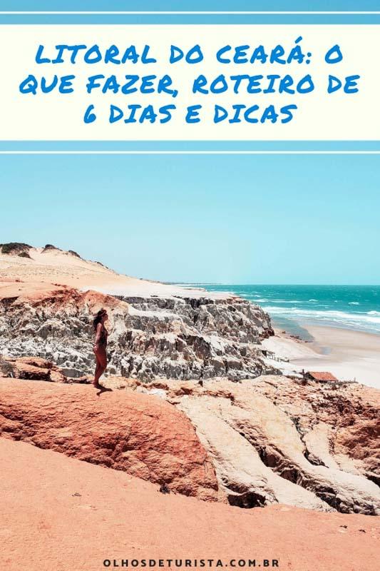 Descubra tudo o que fazer em fortaleza e arredores! O litoral do Ceará é um paraíso de falésias, dunas, praias e lagoas