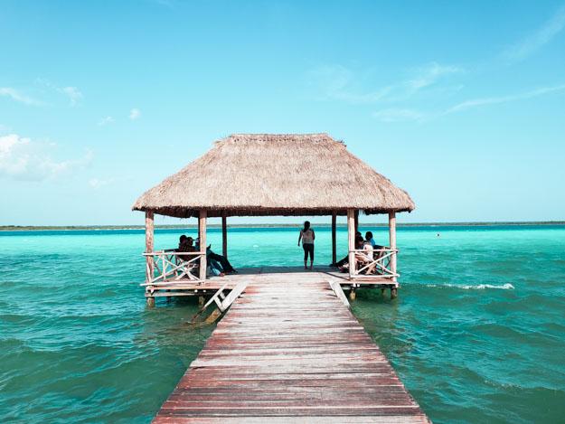 bangalo na lagoa bacalar