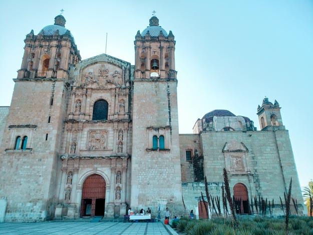 Igreja na cidade de Oaxaca