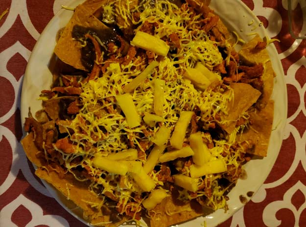 comida mexicana em bacalar