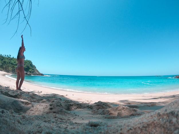 180° graus da Playa Coral México