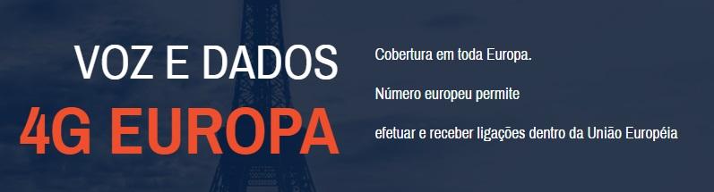 europa dados e voz