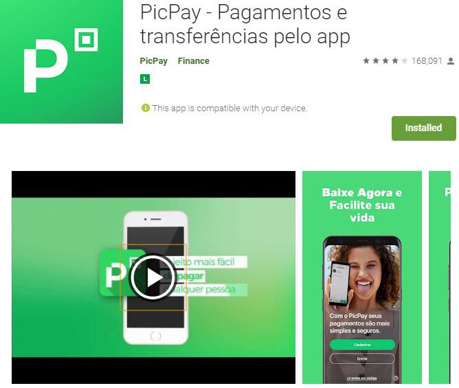 como funciona o PicPay