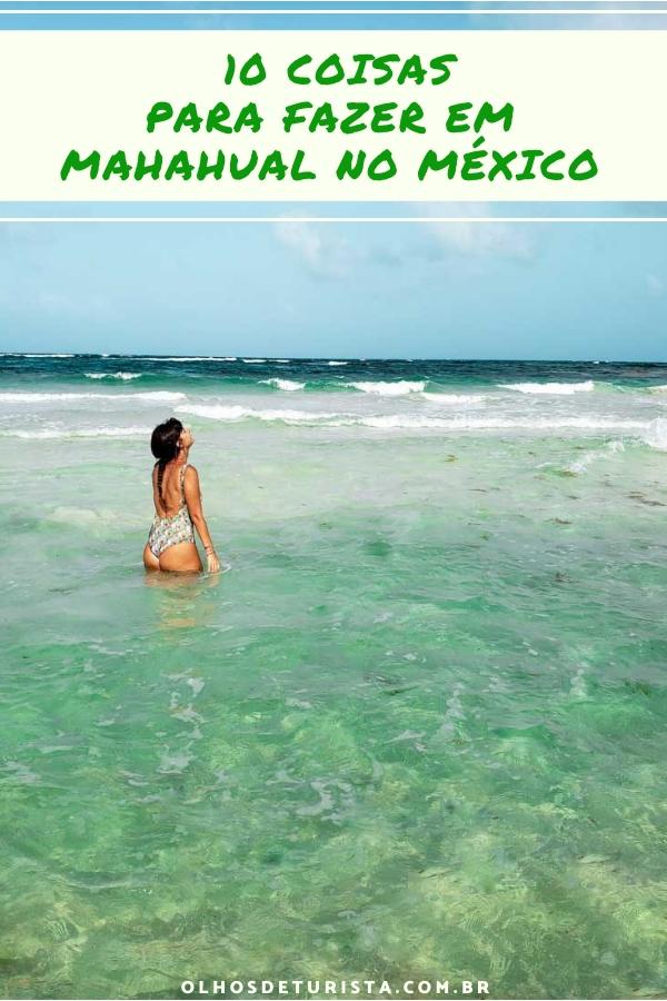 Mahahual: o que fazer no caribe ocidental mexicano em Quintana Roo