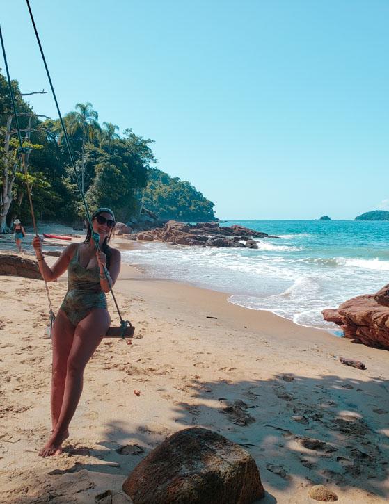 balança na praia do cedro ubatuba