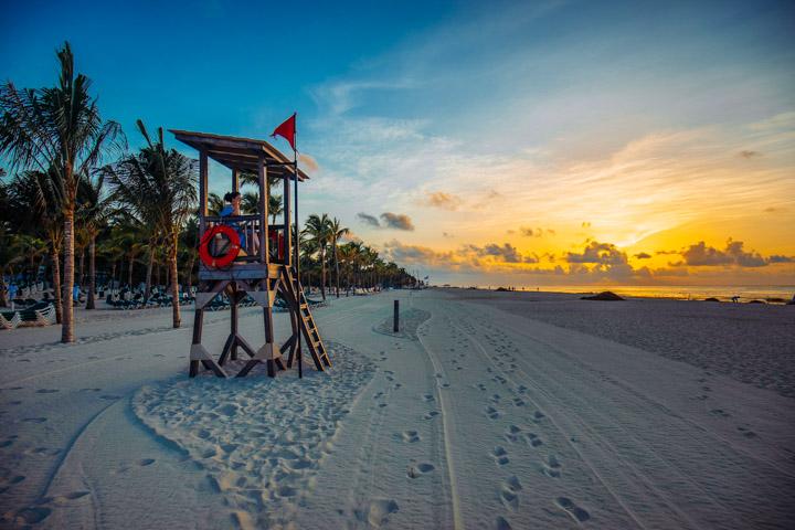 Pôr do Sol em Playa del Carmen