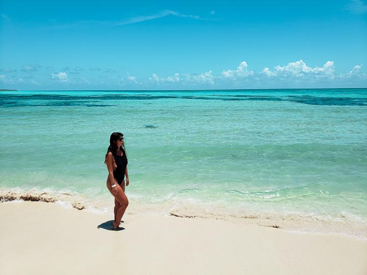 Ilha de Cozumel que fica em frente a Playa del Carmen