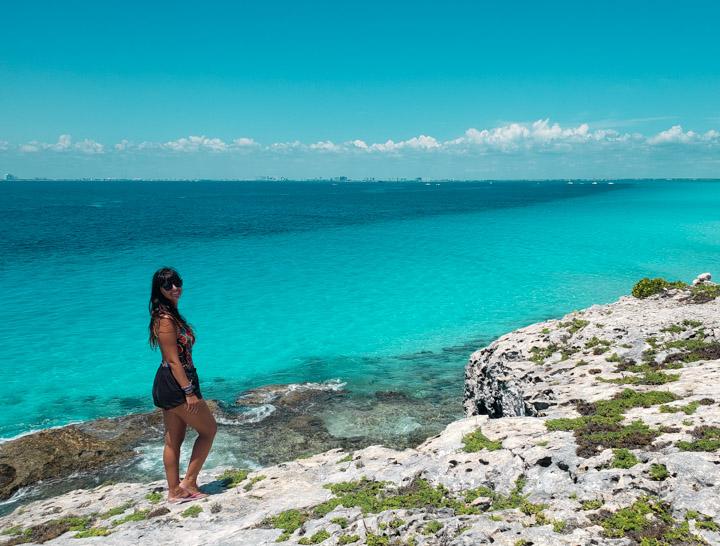 Vista de Punta Sur na Isla Mujeres