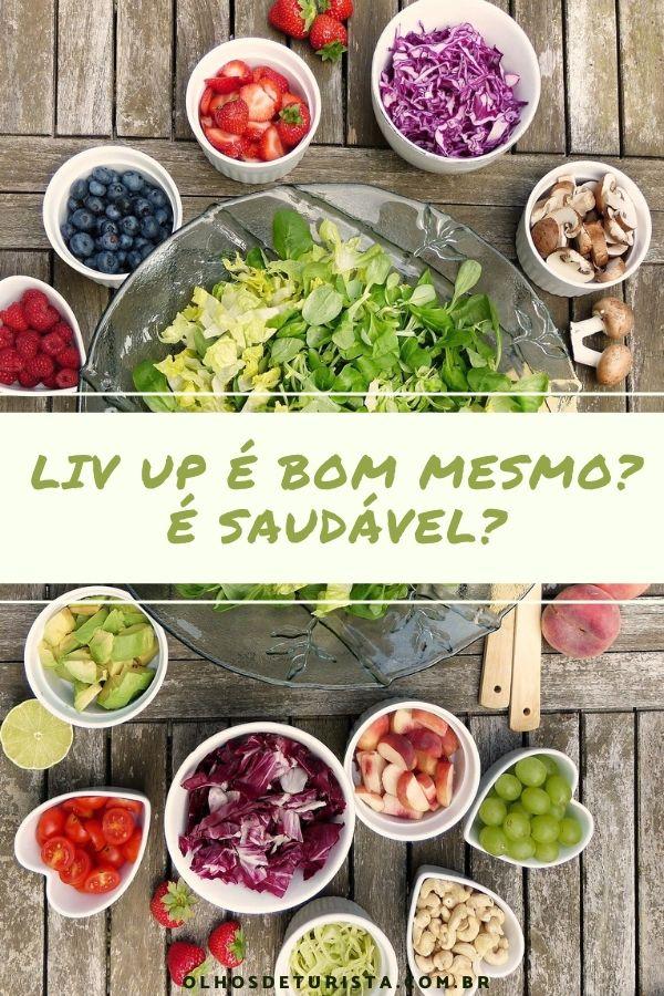 Liv Up: conheça marmitas saudáveis e práticas