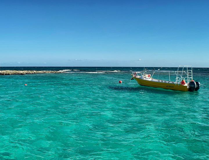passeio de barco em Playa del Carmen