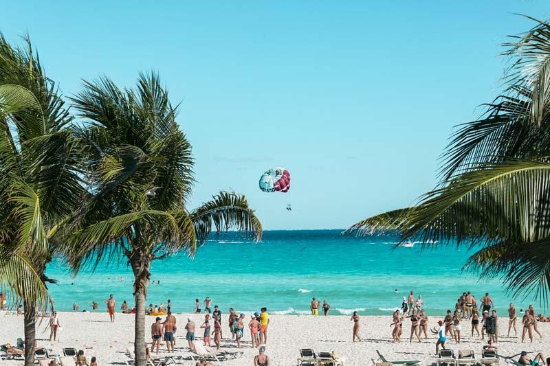 de Cancun a Chichén Itzá México