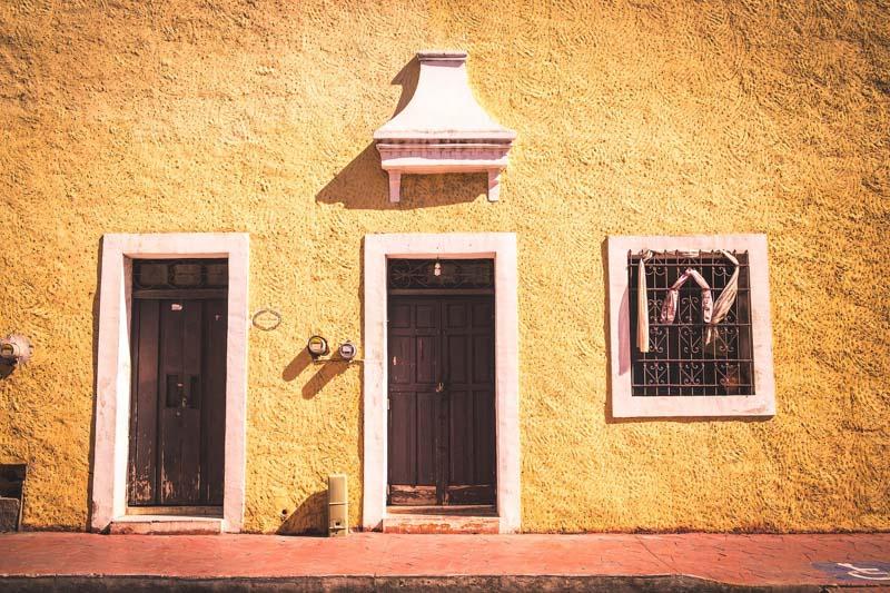 Calzada de los Frailes em Valladolid México