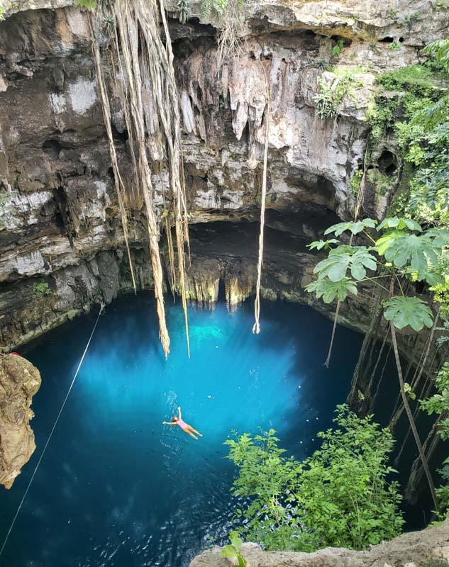 Cenotes em Valladolid