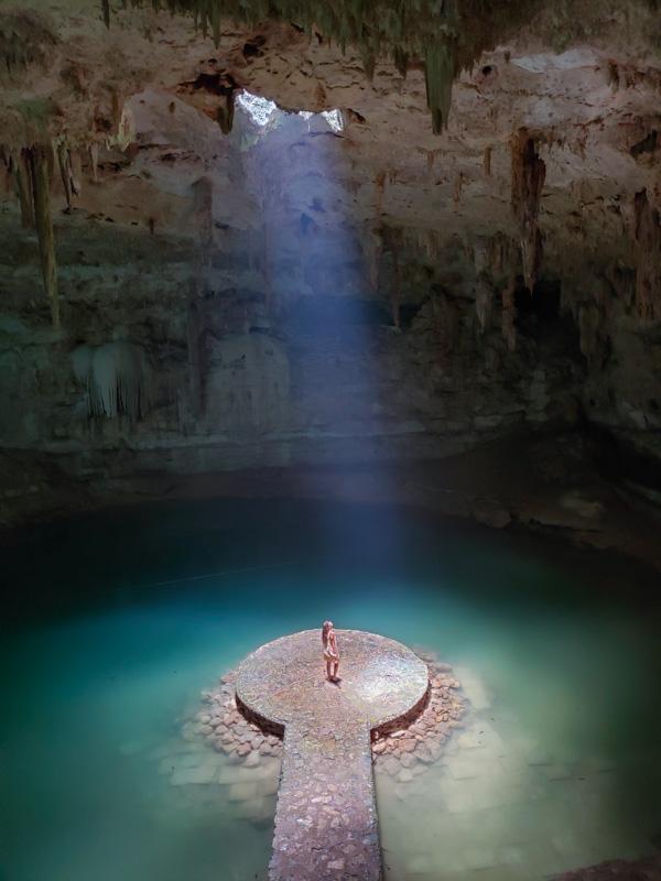 Foto de instagram Cenote Suytun