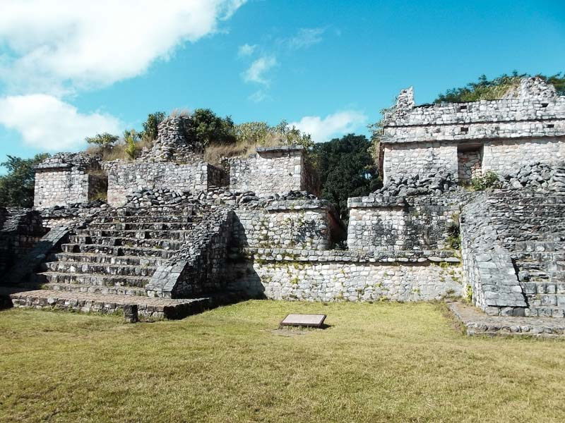 Ruínas de Ek Balam em Yucatán
