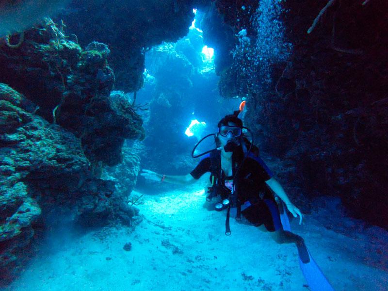 Mergulho em Cozumel México