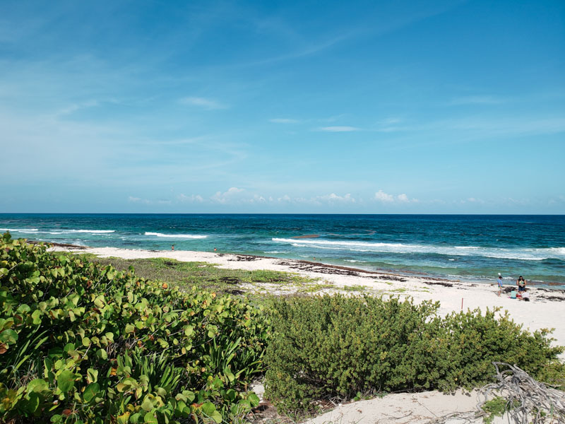 Vista da Playa Bonita Cozumel