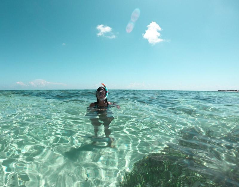 Snorkeling no El Cielo