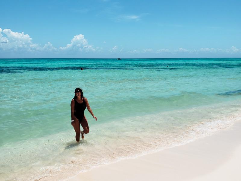 Playa em Punta Sur Cozumel Mexico