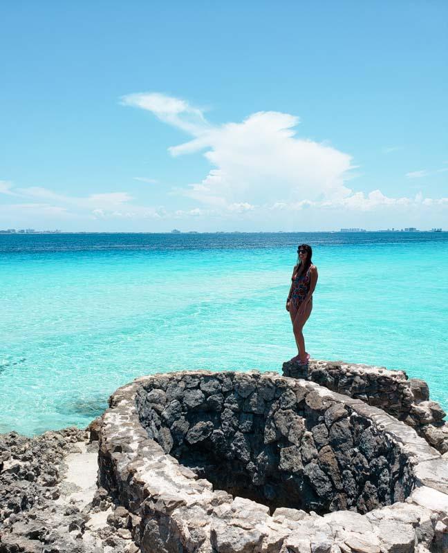 Ruínas de Punta Sur em Isla Mujeres