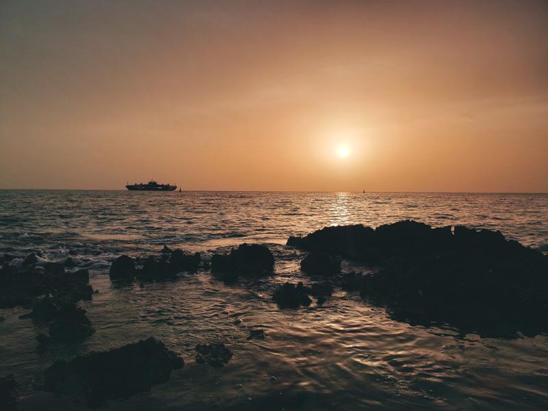 Pôr do Sol em Cozumel México