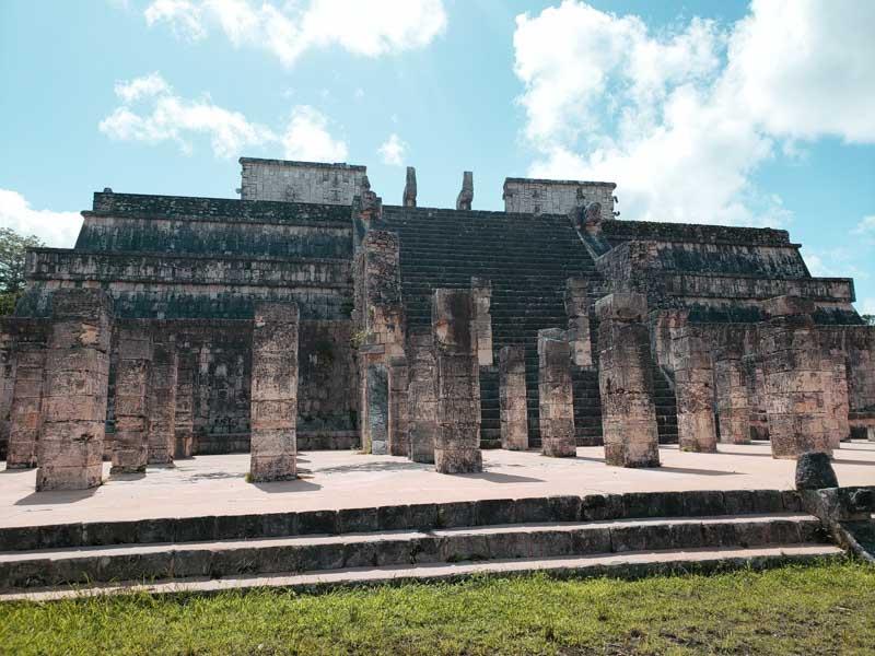 Templo de los Guerreros ruína maia