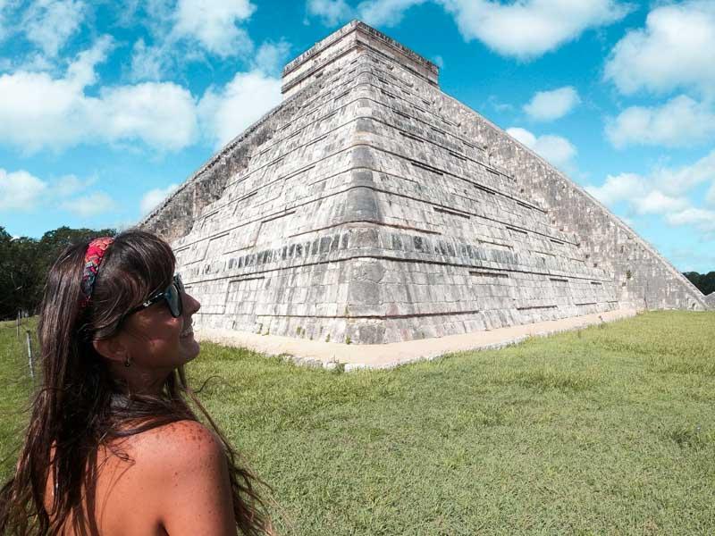 Ruína maia Templo Kukultan México