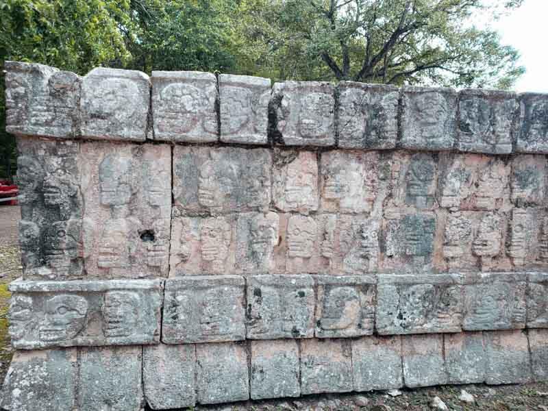 Tzompantli Chichén Itzá Sete Maravilhas do Mundo