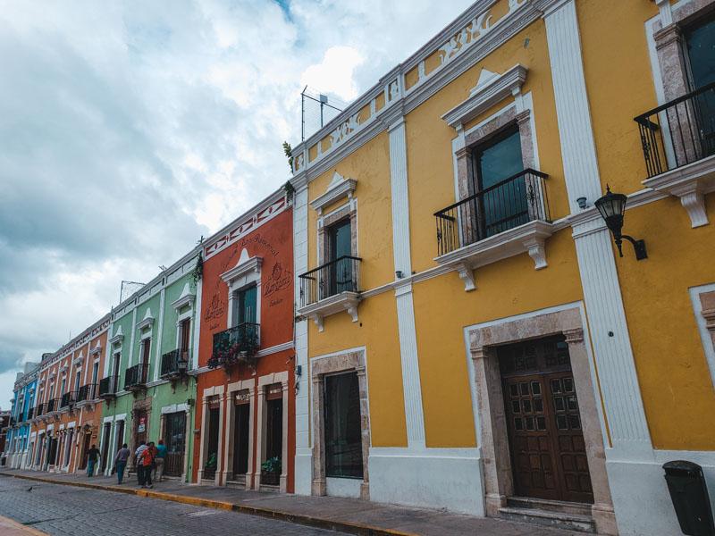 rua de San Francisco de Campeche México
