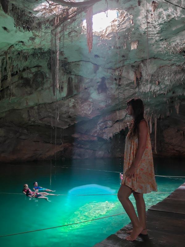 Cenote Canunchén Yucatan México