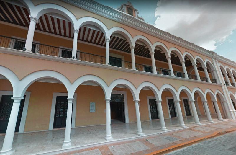 Centro Cultural el Palácio Campeche México