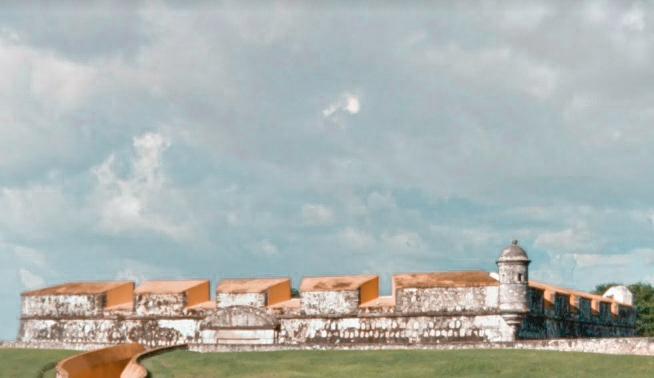 Furte San José e Museu de Arqueología Subacuática Campeche México