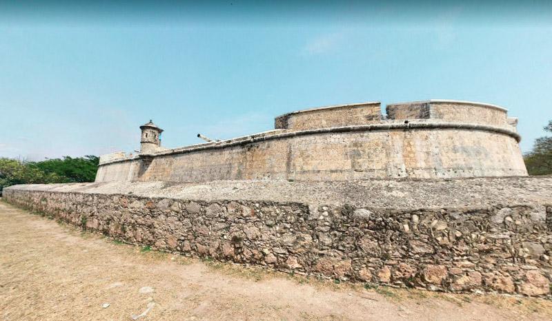 Furte San Miguel e Museu Arqueológico Campeche