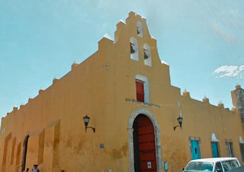 iglesia san roque campeche méxico