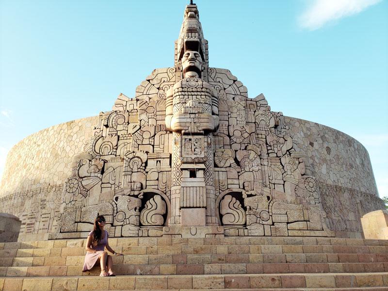 Mérida em Yucatán no México