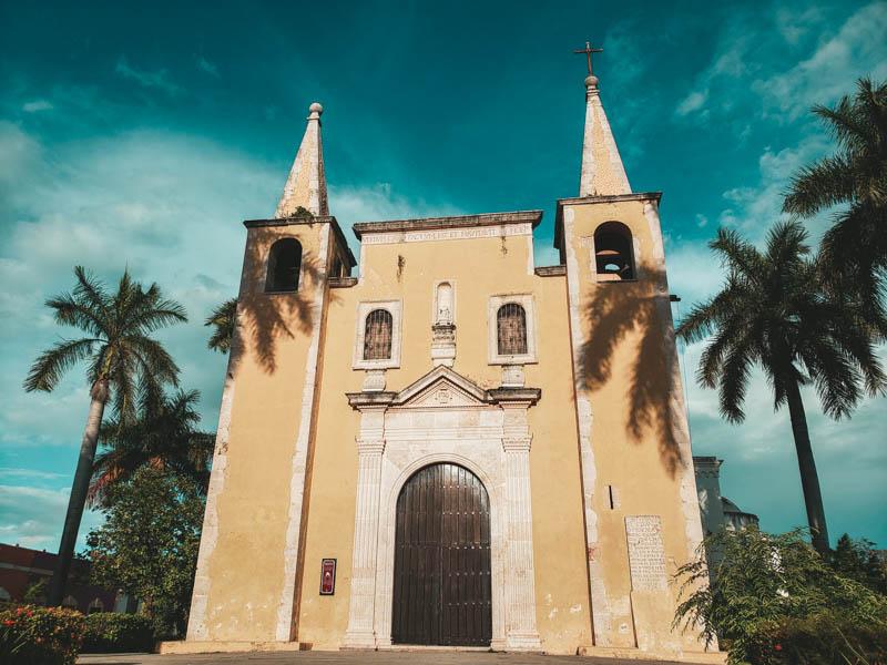 igreja em Mérida México