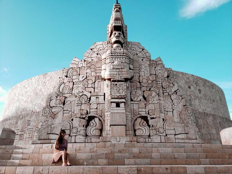 Monumento a la Patria Merida México