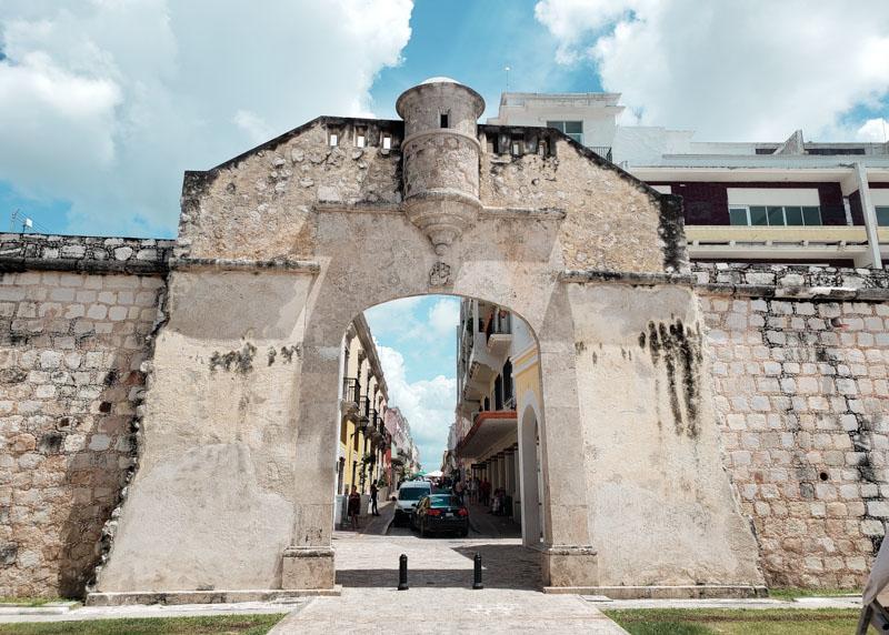 Puerta de Tierra Campeche México