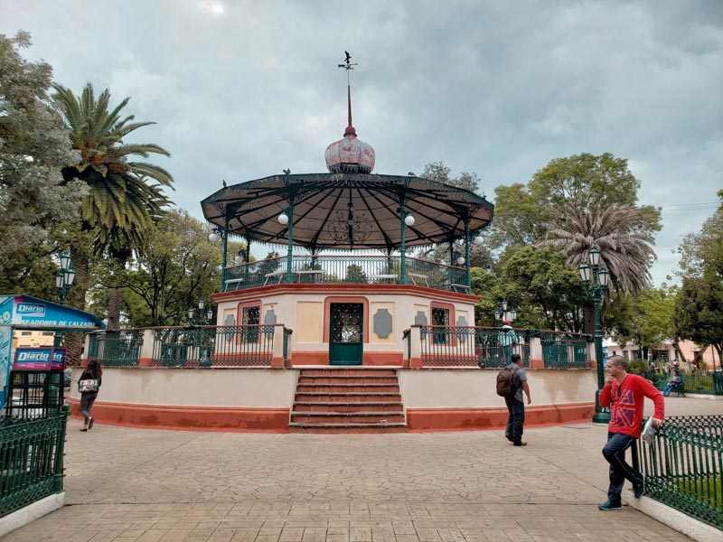 Plaza 31 de Marzo San Cristóbal de las Casas México